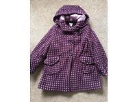 Girls coat 4-6 Monsoon