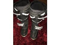 Wulfsport motocross boots size 10