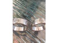 Cartier love rings
