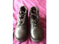 Size 3 steal toe cap boots