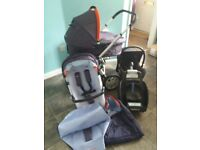 QUINNY BUZZ COMPLETE TRAVEL SYSTEM VGC.