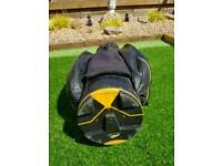 Powakaddy leather cart bag
