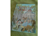 "Graphic novel ""Notes on a thesis"" by Tiphaine Riviere"