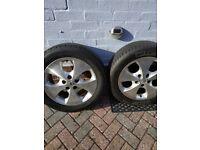 Alloy wheel 17 5x114