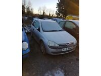 2003 VAUXHALL CORSA 1.0 PETROL BREAKING FOR PARTS