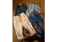 Baby boy 6-9months trouser bundle
