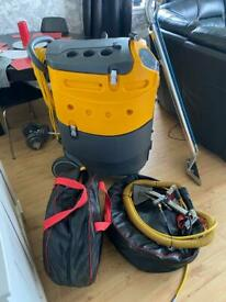 Professional carpet and upholstery cleaning machine
