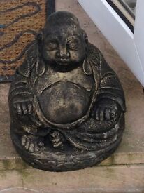 Large garden solid Buddha
