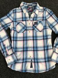 Women's Superdry blouse/shirt size M
