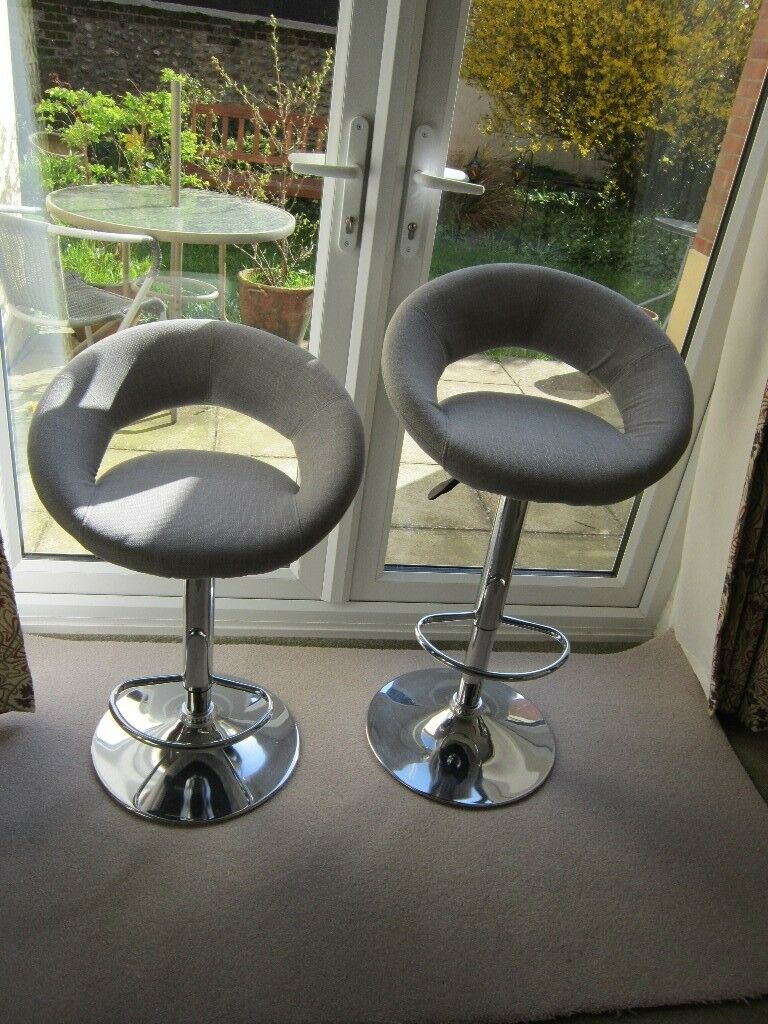 Pair Bed Stools: For Sale Immaculate Pair Of Sorrento Adjustable Bar Stools
