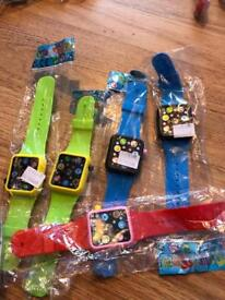 5 kiddies smart watches touch and makes sound brand new