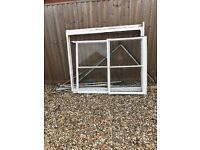 Sash Window compleat with frame and waits in good condition.