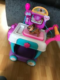 Doc mcstuffins hospital care cart