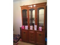 Wooden unit & tv cabinet £200 ONO