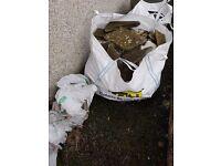 *Free* Tonne bag of rock/rubble