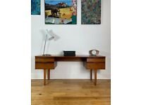 Mid-Century 1960s Teak Minimalist Desk by Avalon FREE LOCAL DELIVERY