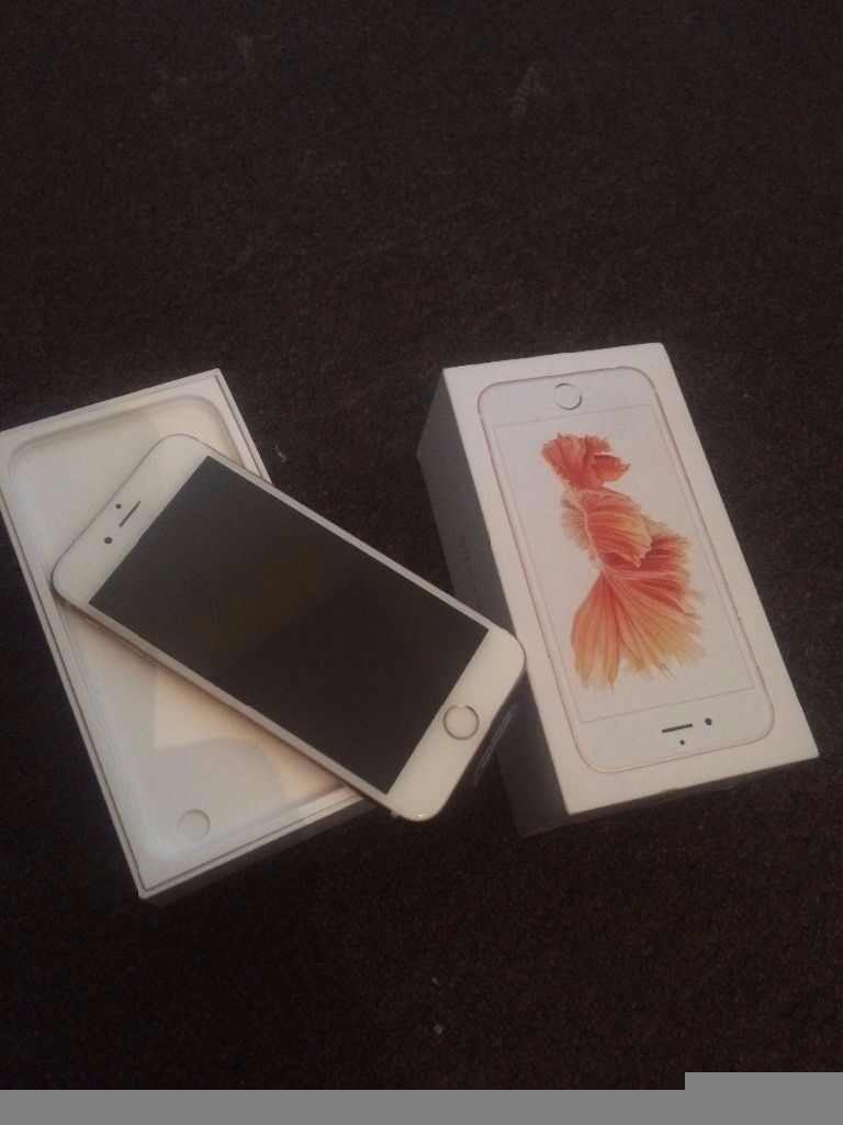 iphone 6s rose gold brand new never used with apple warrantyunlocked boxed with all accessoriesin Newham, LondonGumtree - iphone 6s rose gold brand new never used with apple warranty , unlocked boxed with all accessories selling as its an unwanted upgrade