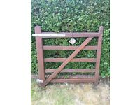 4ft 5 bar wooden pathway gate