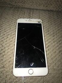 Broken Iohone 6 s plus