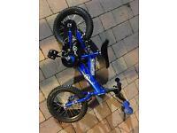 Small blue bike - first bike for Christmas