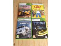 Xbox 360 games great condition