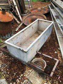Galvanised Trough - Ideal for planting