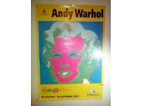 Andy Warhol 2001 big gallery poster