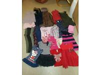 Bundle of girls clothes 6-7 year.
