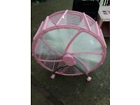 Pink rotating Shoe Rack storage unit