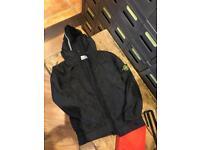 Genuine stone island jacket coat age 6 black as new