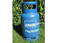CALOR GAS 7KG BUTANE EMPTY GAS BOTTLE.