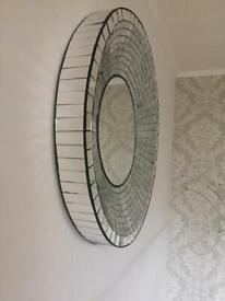 Mosaic bevelled mirror £30