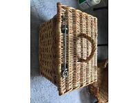 Cat travel basket and bed basket