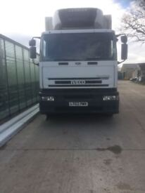 IVECO eurotech- refrigerated box lorry