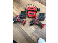 Snap on impact drivers