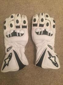 Alpinestars motorcycle gloves XXL