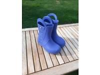 Blue Croc wellies size 12