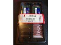 Kingston HyperX DDR2 SODIMM PC2-6400 4GB kit for laptops