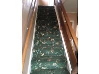 Stair carpet Axminster quality