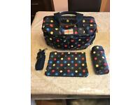 Cath Kidston baby changing bag & accessories