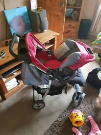 Hauck 3in1 travel system