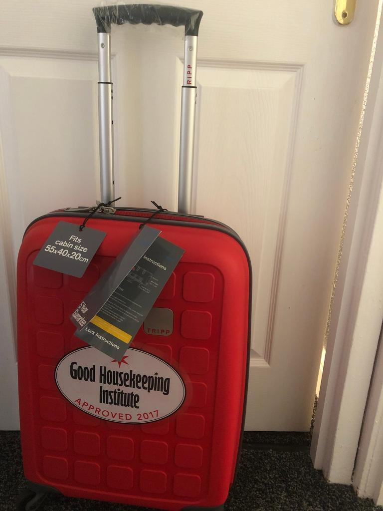 d288bdf1c Tripp poppy red cabin 4 wheel luggage | in Falkirk | Gumtree