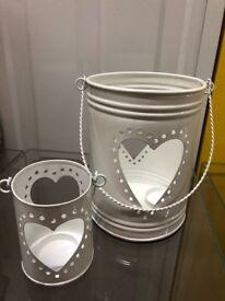 beautiful set of delicate tea lights (x2 per set)