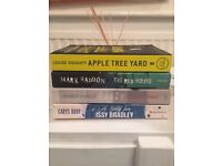 Fiction Books! Great Stocking Fillers. Big Authors - Mark Haddon, Emma Donoghue, Elizabeth Forbes