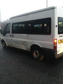55 plate. 9 seater van with ramp