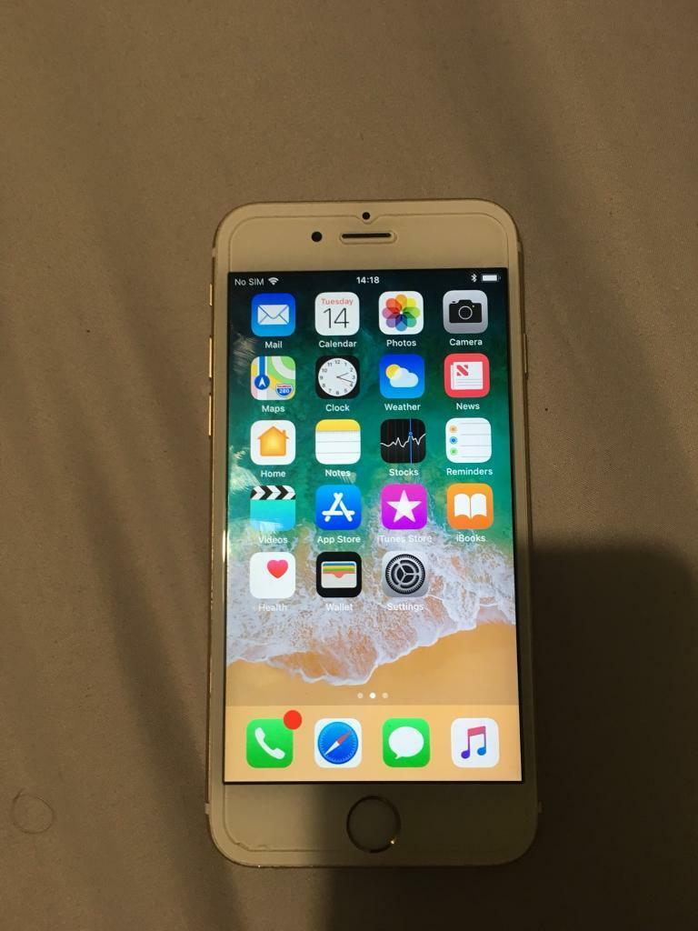 APPLE IPHONE 6S 16GB WHITE & GOLD