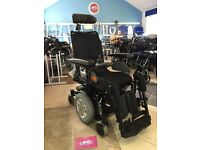 Pride Quantum Q4 Mid Wheel Drive, Indoor / Outdoor Tilt In Space & Reclining Power Chair, Wheelchair