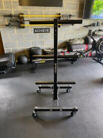 Rogue Vertical Weight Plate Tree with wheels