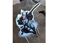CATWOMAN life size CUT-OUT Marvel DC Comic character