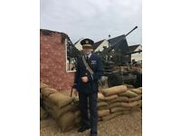 WW2 REPLICA RAF COMPLETE UNIFORM.....MENS